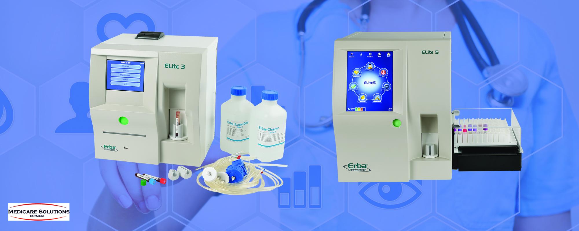 Analizator automat de hematologie Elite 3 & Elite 5